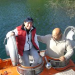 Tine kurz vorm Einstieg in das U-Boot