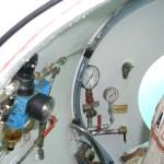 Armaturen im U-Boot