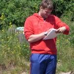 Marcus, der Herr Ausbuildungsleiter bei der Supervision.