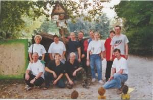 Arbeitseinsatz am Obersee 2002