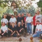 Gruppenbild der Saubermänner