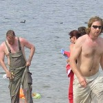 Kai geht baden