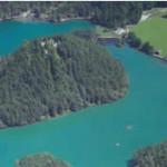 Panorama des Fernsteinsees