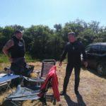 Die zwei Rescue-Helden Matze und Andre
